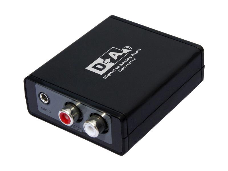 LKV 3088 - преобразователь цифровых аудио сигналов Ss/pdif и toslink в аналоговые стерео (без поддержки dolby digital)...