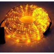 Светодиодный дюралайт LED-2W-100-240V (36 св. /м,  АС 220 В,  желтый)