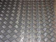 Лист алюминиевый АДО рифленый