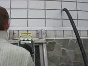 Утепление стен пеноизолом(пеной), жидким пенопластом