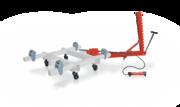 Стапель для кузовного ремонта перекатной SIVER (А,  B,  C,  E)