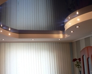 Глянцевые натяжные потолки/Натяжні стелі