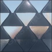 Гипсовая 3д панель Пирамидка